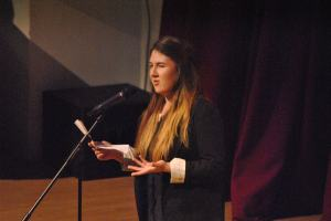 Yr13 Film Studies stuent Amber Napthine introduces our special Xmas screening of 'It's a Wonderful Life' (Dec. '12)