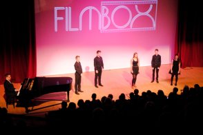 Vocal overture to our screening of 'Les Miserables' - May 2013