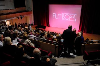 Our audience in the larger venue the Bromley Hall.
